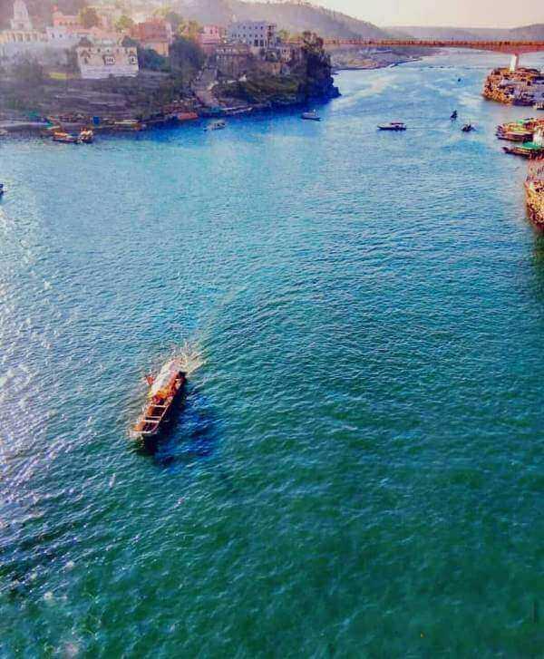 Omkareshwar Boating
